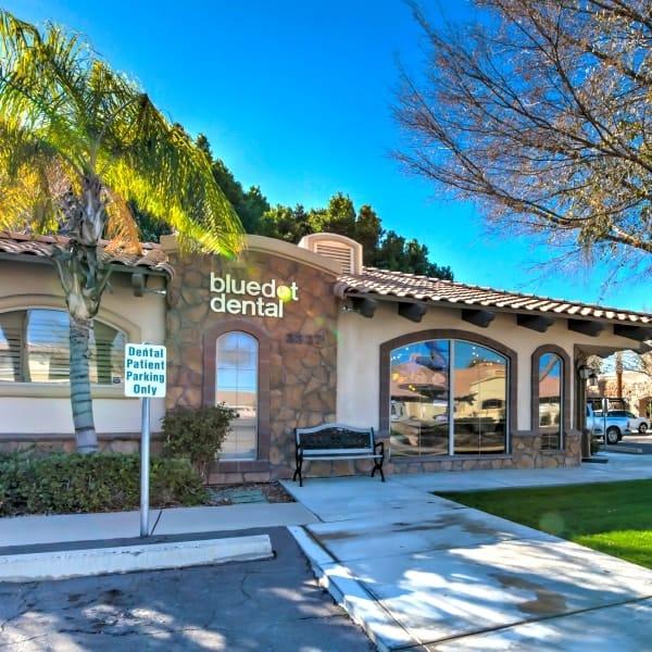 BlueDot Dental office exterior