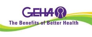 Purple GEHA logo